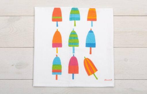 Festive Fisth - Sack Towel - Lobstah Buoys