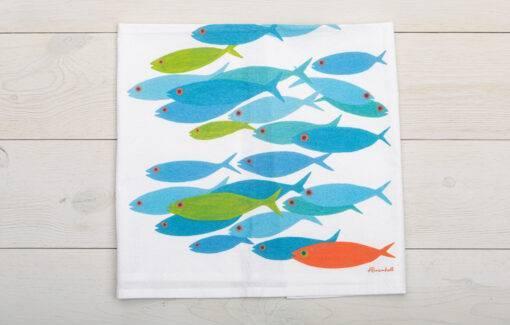 Festive Fisth - Sack Towel - Wee Fish