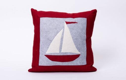 Maine Island Designs - Pillow - Sail Boat