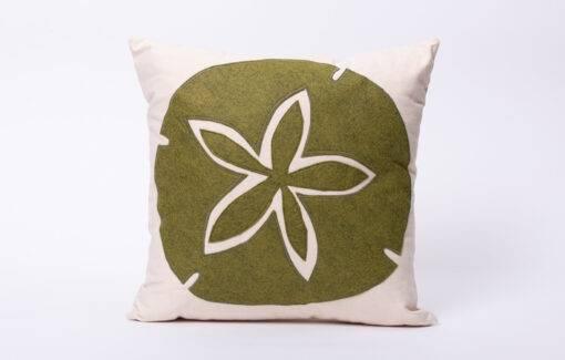 Maine Island Designs - Pillow - Sand Dollar