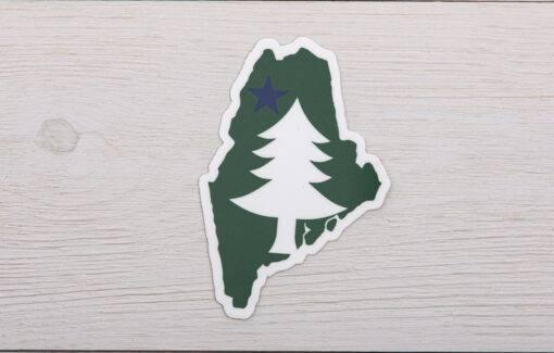 Stacy Kane Design - Decal - Maine 1901 Flag