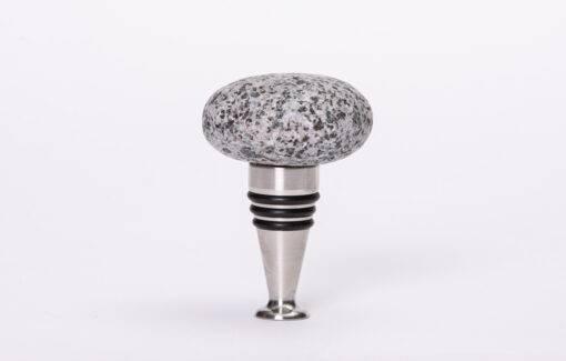 Funky Rock Designs - Bottle Stopper - Beach Stone