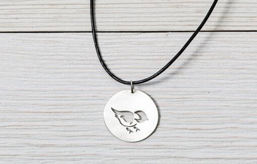 LSF Design + Fabrication - Necklace - Chickadee Pendant