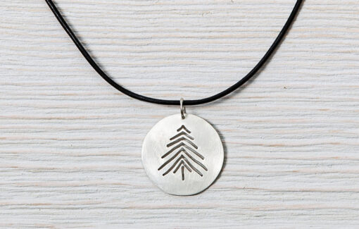 LSF Design + Fabrication - Necklace - Pine Tree Pendant