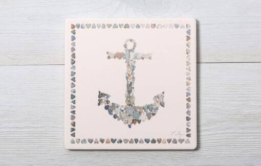 Love Rocks Me - Trivet - Anchor