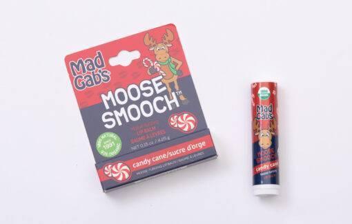 Mad Gabs - Lip Balm - Moose Smooch - Candy Cane