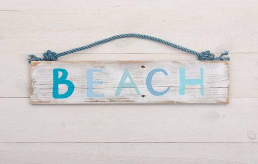 Salty Girl - Driftwood Beach Sign