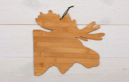 ReclaiMEd Sign Co. - Bamboo Cutting Board - Moose