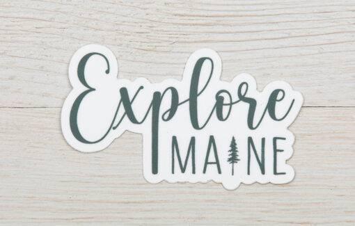 ReclaiMEd Sign Co. - Sticker - Explore Maine
