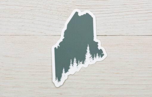 ReclaiMEd Sign Co. - Sticker - Maine Pine Tree Coast