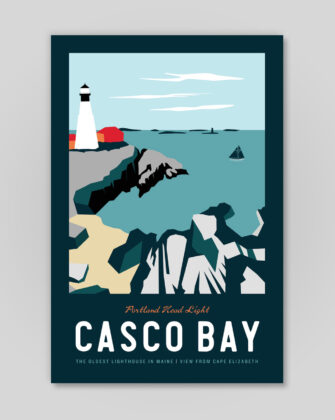 Sperry General Store - Poster - Casco Bay