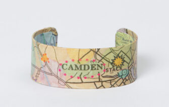 Whimsy - Chart Map Cuff - Camden