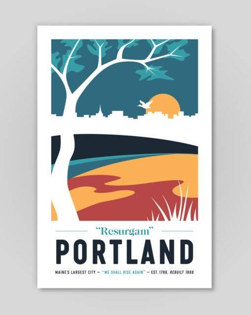 Portland light poster