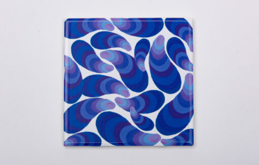 Festive_Fish_Trivet_Purple_Mussels