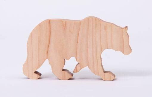 ReclaiMEd Sign Co. - Maine Inspired Wooden Blocks - Bear