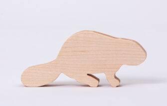 ReclaiMEd Sign Co. - Maine Inspired Wooden Blocks - Beaver