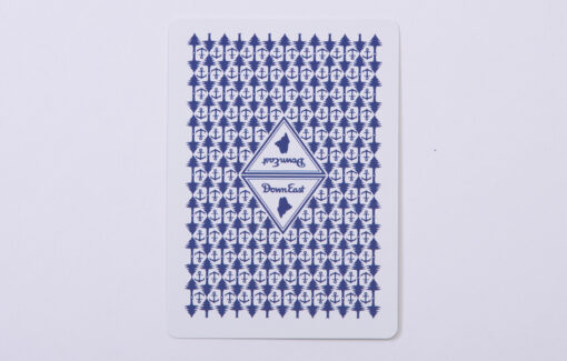 Down East Playing Card