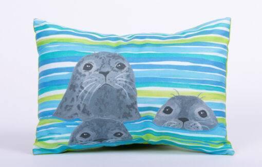 Festive Fish - Artful Pillow - Three Seals