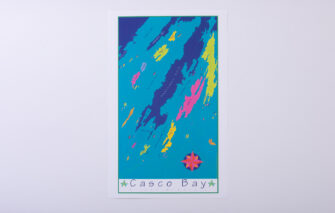 Festive Fish - Chart Poster - Casco Bay