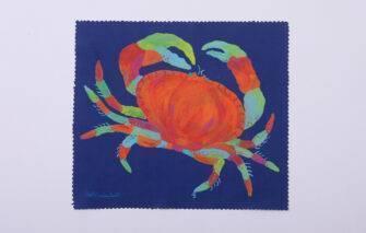 Festive Fish - Microfiber Cloth - Lefty Lobster / Lefty Crab