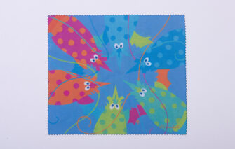 Festive Fish - Microfiber Cloth - Lobster Party / Maori Crab