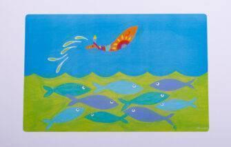 Festive Fish - Placemat - Joyful Fish