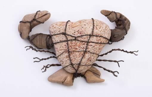 Julia M. Doughty - Mighty Crab Sculpture