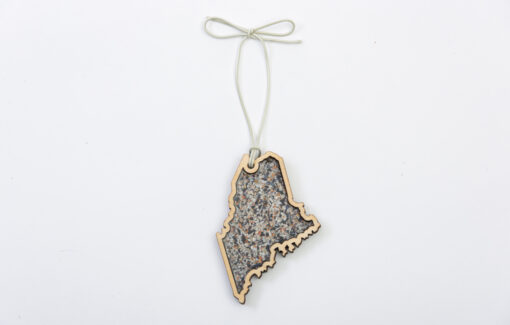 Maine Shellware - Maine State Ornament