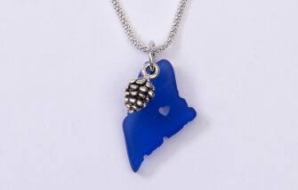 Spruce Moose Designs - Necklace - Celebrate Maine - Blue