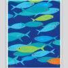 Festive Fish - Wee Fish Whimsical Print