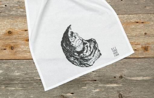Beeyond Hope Farm - Tea Towel - Weskeag Oyster