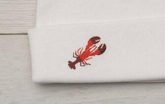 Diva Designs - Buffalo Plaid Lobster Baby Set