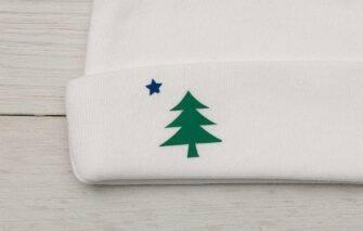 Diva Designs - Maine Flag Baby Set