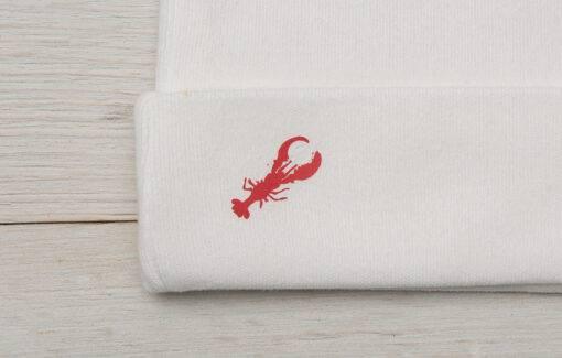 Diva Designs - Polka Dot Lobster Baby Set