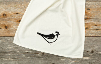 Down East - Tea Towel - Chickadee