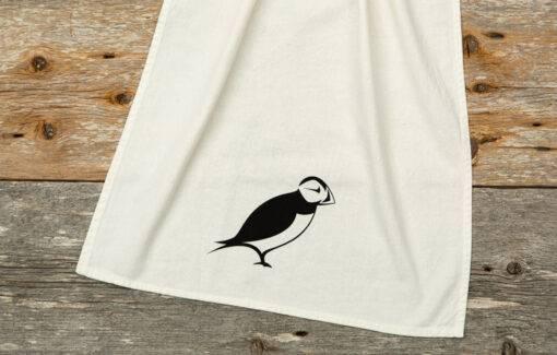 Down East - Tea Towel - Puffin