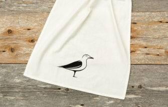 Down East - Tea Towel - Seagull