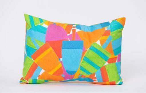 Festive Fish - Artfull Pillow - Buoy Burst