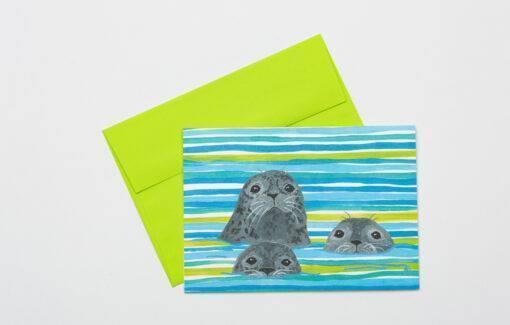 Festive Fish - Seal Assorted Card Set