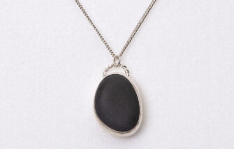Sea Salt + Silver - Necklace - Scarborough Beach Stone