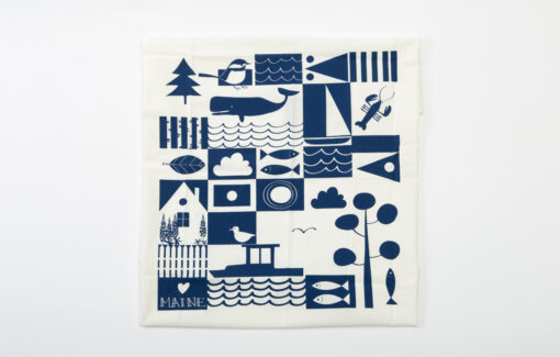 Trosko Design - Maine Flour Sack Tea Towel