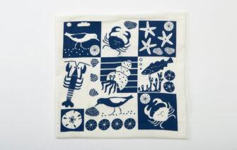Trosko Design - Seashore Flour Sack Tea Towel